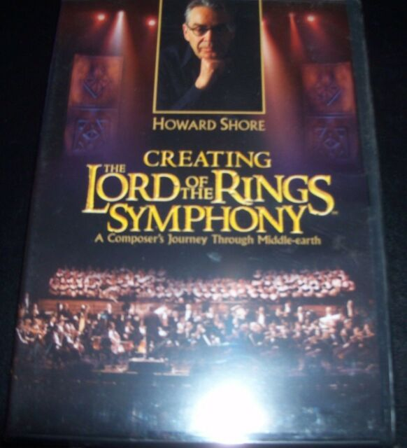 Creating The Lord Of The Rings Symphony Howard Shore DVD (Aust Region 4) DVD NEW