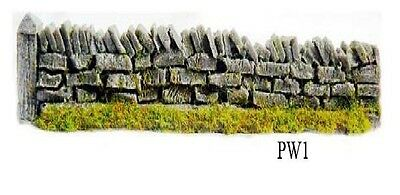 Javis Pw1 5 X 134mm Roadside Dry Stone Walling 134mm '00' Gauge 2nd Post Oo Scale Other Oo Scale Parts & Accs