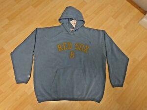 3973bc6f1ef MLB Boston Red Sox Hoodies   Jacket All Sewn Majestic Rare Retro ...