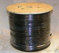 500' Cctv Video Camera Wire Rg59 Coax/rs485/power Ptz Data 18/4 Siamese Cable