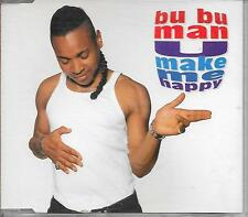 BU BU MAN - U make me happy CDM 5TR Euro House Hip Hop 1996 Finland