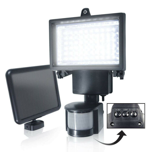 60 Led Solar Security Light For Sale Online Ebay