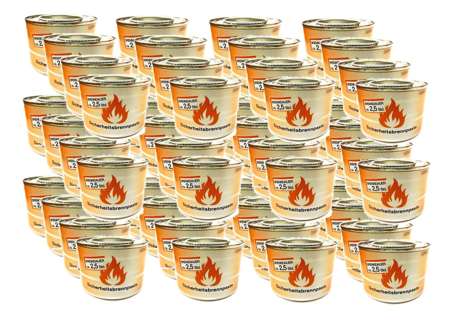 48 x x x Brennpaste für Tischräucherofen Speisenwärmer Buffet Sicherheitsbrennpaste 5deab0