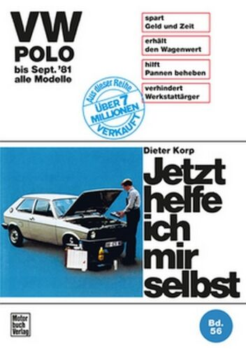1 von 1 - VW Polo bis September 81 Reparaturanleitung Jetzt helfe ich mir selbst Buch Book