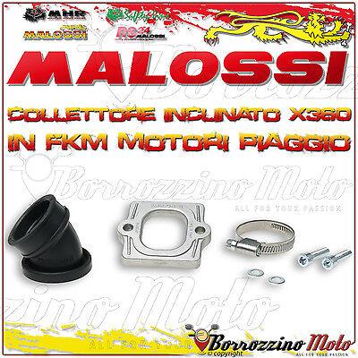 Malossi 2013802 Collettore Inclinato X360 Ø 30-35 Piaggio Zip Sp 50 2t Lc 2001->