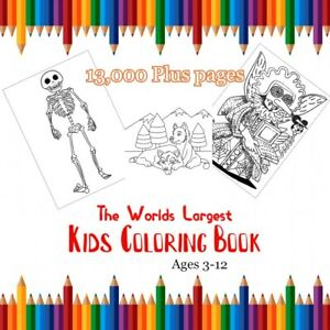 Worlds-Largest-Coloring-Book-set-art-draw-color-teachers-fun-collection