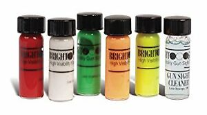 Truglo-High-Visibility-Paint-Bright-Gun-Sight-Coating-Kit-Multiple-5-Colors