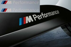 2-M-Performance-Power-Aufkleber-134mm-weiss-BMW-M-Power-M-Logo-X5-X6-X3-3er-5er