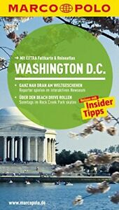 MARCO POLO Reiseführer Washington D.C.: Reisen mit Insider Tipps. Mit Extra Falt