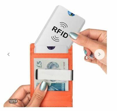Etui Porte Carte Anti RFID Carte Bancaire Bleue Credit Fraude 2019