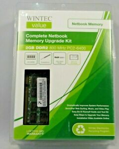 Wintec Notebook 2gb ddr2 800mhz pc2-6400 Kit  Sealed !