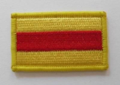 BRITISH ARMY SURPLUS 9th 12th ROYAL LANCERS SEW ON TRF PATCH,FLASH,FORMATION