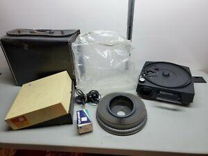 Parts/Repair Vintage Kodak Carousel 760H Slide Projector w/ Remote CLEAN