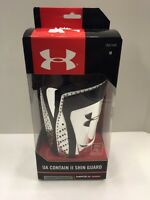 Under Armour Contain Ii Shin Guard Soccer Silver M Heat Gear Ua 55049 Nip