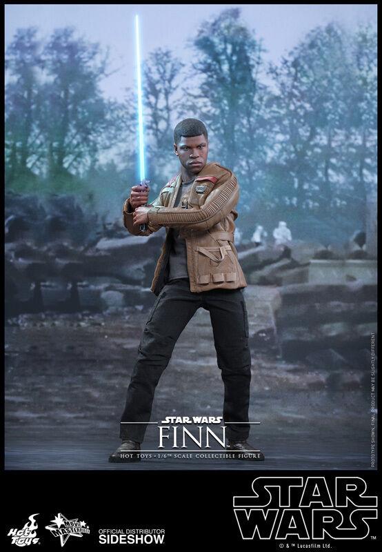 HOT TOYS STAR WARS EPISODE VII Force Réveille Finn 12  1 6 Scale Figure Sideshow