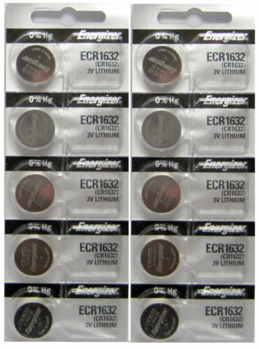 5pcs Energizer Battery 1.55V and 3V Lithium Coin//Button Cell Batteries