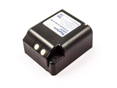12v 2000mAh Batterie Ersatzakku Akku für Leica ersetzt  FS283 GEB87 GEB187