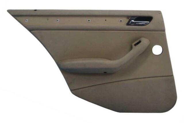 Bmw E46 3 Series 4door Rear Interior Door Panel Trim Skin Pair Beige
