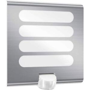 Steinel-LED-Aussenleuchte-L-224-Edelstahl-Aussenlampe-Bewegungsmelder-Sensor-Lampe