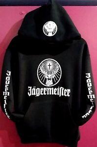 Jagermeister Pullover Hoodies(New)Ad<wbr/>ults Size Sweatshirts BLACK S,M,L,XL,2XL,3<wbr/>XL
