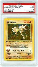 QTY AVAIL POP 34 1996 Pokemon Japanese Fossil Hitmonlee Holo #106 PSA 9