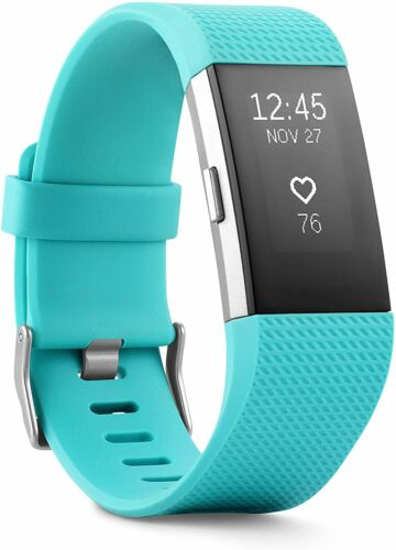 Fitness Wristband Small Large Fitbit Charge 2 Heart Rate Teal