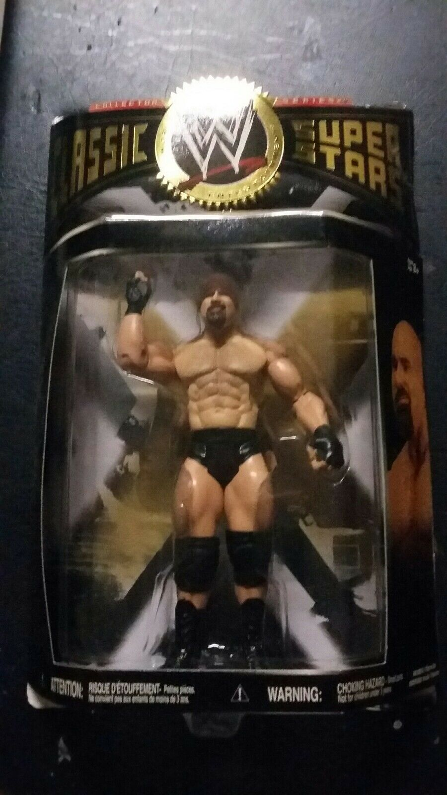 WWE CLASSIC SUPERSTAR goldBERG.   SERIES