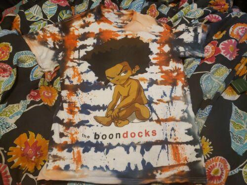 Rare Vtg The Boondocks Huey Tie Dye Tee Shirt sz M