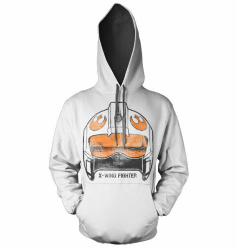 X-Wing Fighter Helmet Hoodie S-XXL Sizes Details about  /Officially Licensed Star Wars