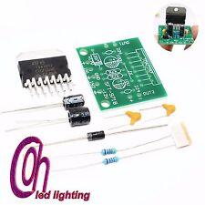 1set Amplificador TDA7297 Board Repuestos DC 12v grado 2.0 Dual Audio 15w KIT de Hágalo usted mismo