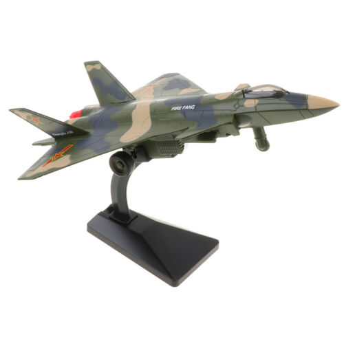 Alloy Aircraft Fighter Diecast Plane Model Collection Camouflage Green