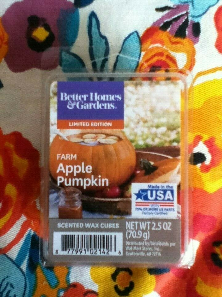 New Scentsy /& Better Homes and Gardens Wickless Scented Wax Cubes Melts Tarts
