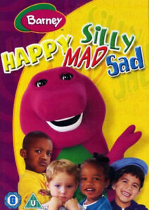 Barney-Happy-Mad-Silly-Sad-DVD-cert-U-NEW-FREE-Shipping-Save-s
