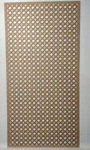 Radiator Cabinet decor. Screening Perforated 3mm & 6mm thick MDF laser cut KK3