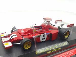 Ferrari-Collection-F1-312-B3-73-Arturo-1-43-Scale-Box-Mini-Car-Display-Diecast