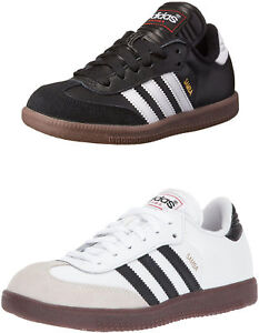 5f4a94a0c Image is loading adidas-Youth-Samba-Classic-Leather-Soccer-Shoe-2-