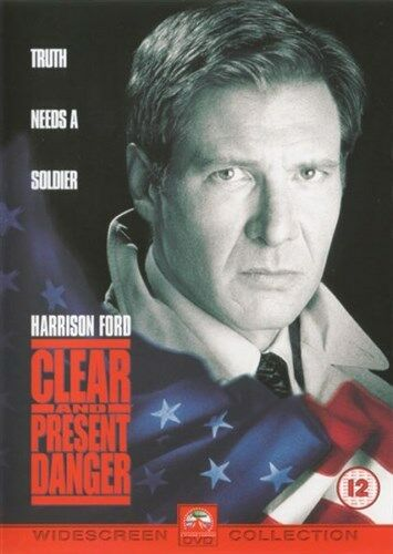 Clear And Present Danger (DVD, 2003)  NEW