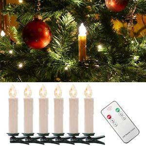 Weihnachtskerzen weihnachtsbeleuchtung led kerzen lampen kabellos warmwei ebay - Weihnachtsbeleuchtung fenster kabellos ...