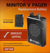 Power Products Bp5707mh Motorola Minitor V Nimh Battery Brand New Rln5707a