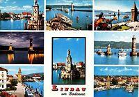Lindau am Bodensee , Ansichtskarte , gelaufen
