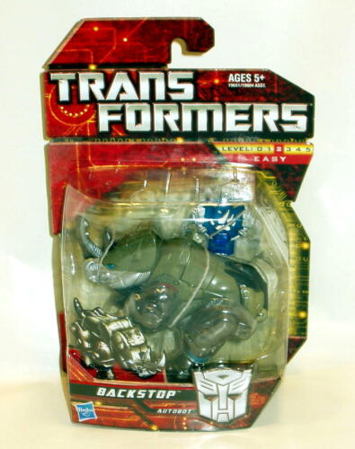 Transformers Backstop Scout Class Next Day Free Shipping /& Pro Packing