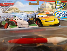 Disney pixar cars 2 colour/color changer  McQueen &Francesco Bernoulli  Italia !