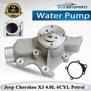 Water-Pump-Jeep-Cherokee-XJ-Series-6cyl-4-0L-Petrol-Gasket-1994-2001-4626215
