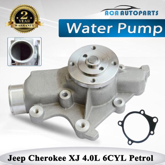 Water Pump Jeep Cherokee XJ Series 6cyl 4.0L Petrol + Gasket 1994-2001 4626215