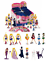 SAILOR MOON Box 24 bustine con Personaggio e Puzzle Card Ultimi pezzi rimasti!