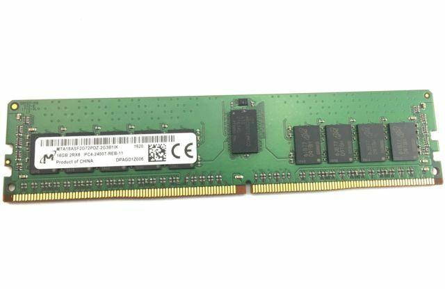 Micron 16GB PC4-2400 DDR4 ECC memory MTA18ASF2G72PDZ-2G3 SERVER Memory