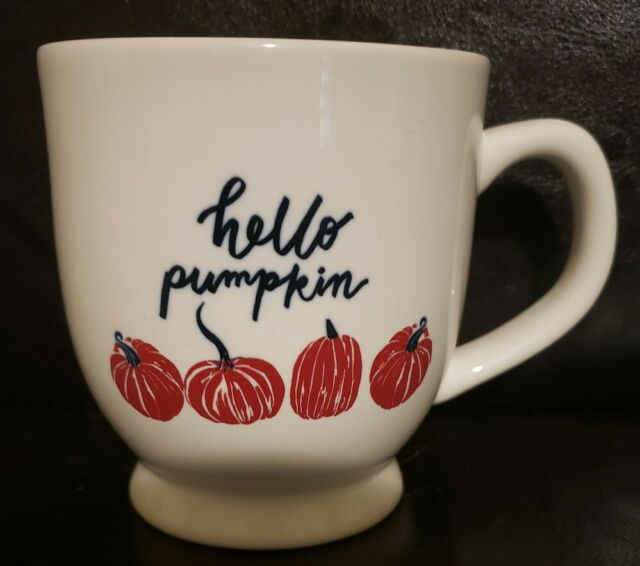 Coffee Mug Pumpkin Spice Halloween Autumn Coffee Cup Pumpkins And Sunflowers Mug
