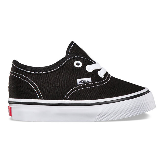 dc667fc679 Infant Toddler VANS Authentic Black White Original Vn000ed9blk 4 for ...