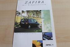 133676) Opel Zafira 1.6 CNG Prospekt 09/2000