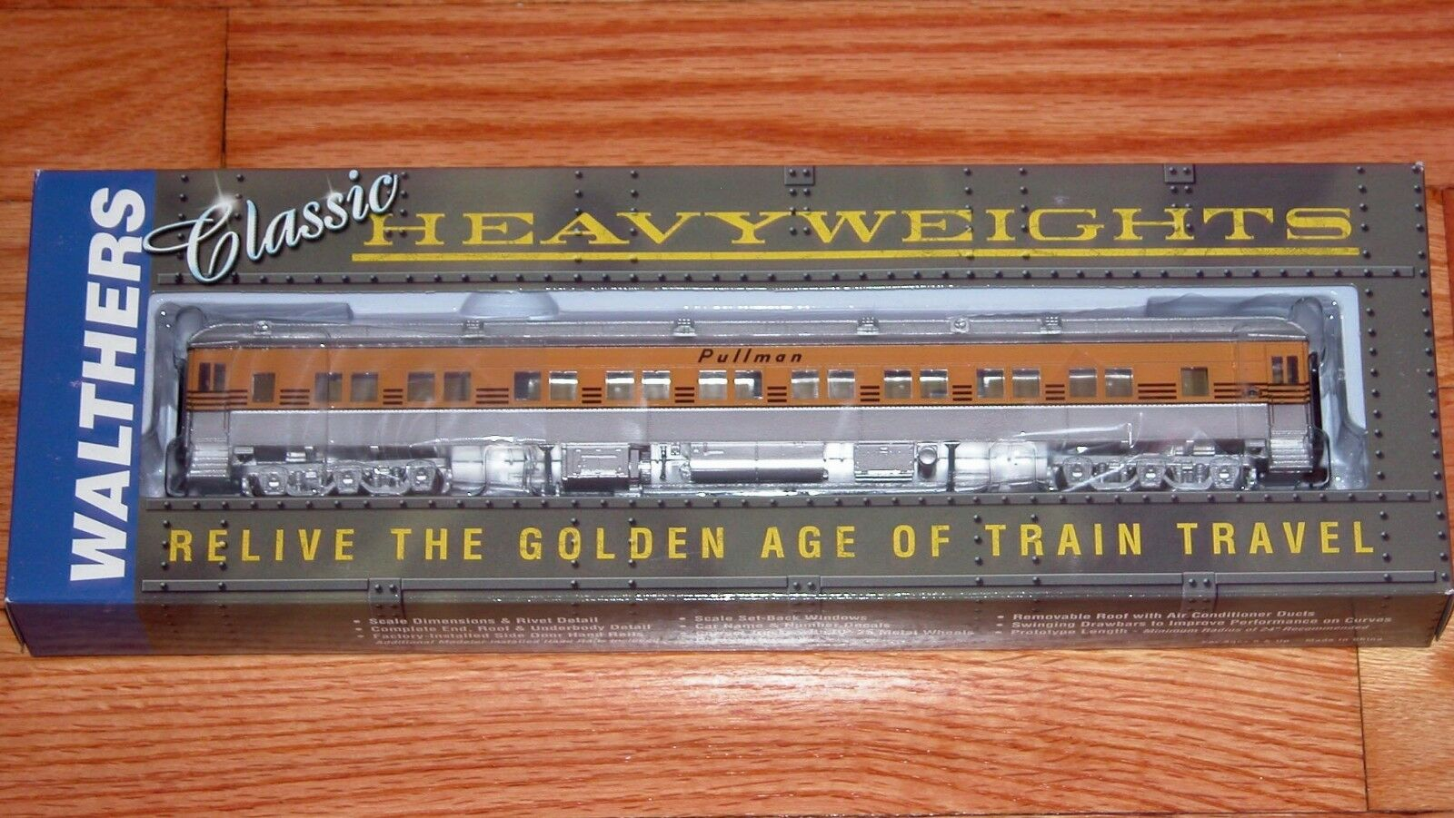 WALTHERS 932-10311 PULLMAN HEAVYWEIGHT 28-1 PARLOR  PLAN   3416  DRGW